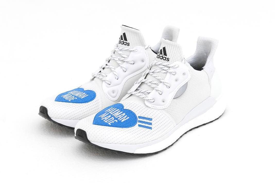 BUY Pharrell X Adidas Solar Hu Glide ST Footwear White
