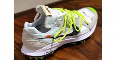 outlet store ca921 afa0d Ta en närmre till på Virgil Ablohs kommande Off-White™ x Nike Sneakers