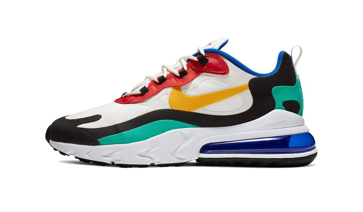 "Nike Air Max 270 React ""Bauhaus"" | Dopest"