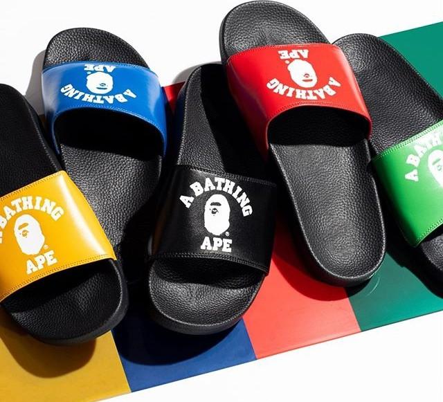 Adidas Snakeskin Effect Slides  