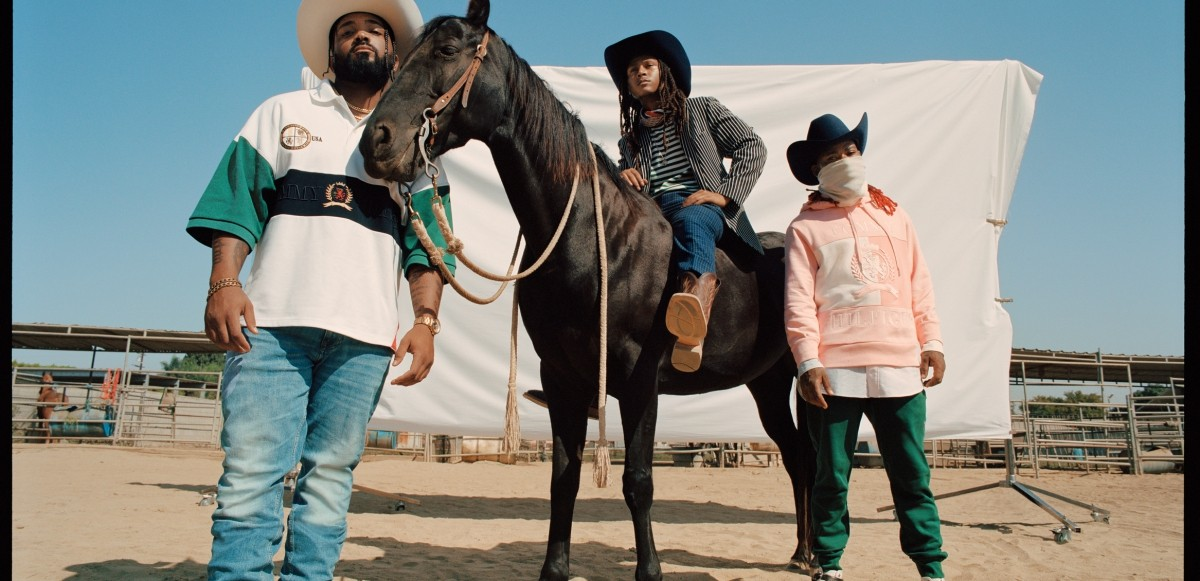 Compton Cowboys med flera frontar Tommy Hilfigers vårkampanj